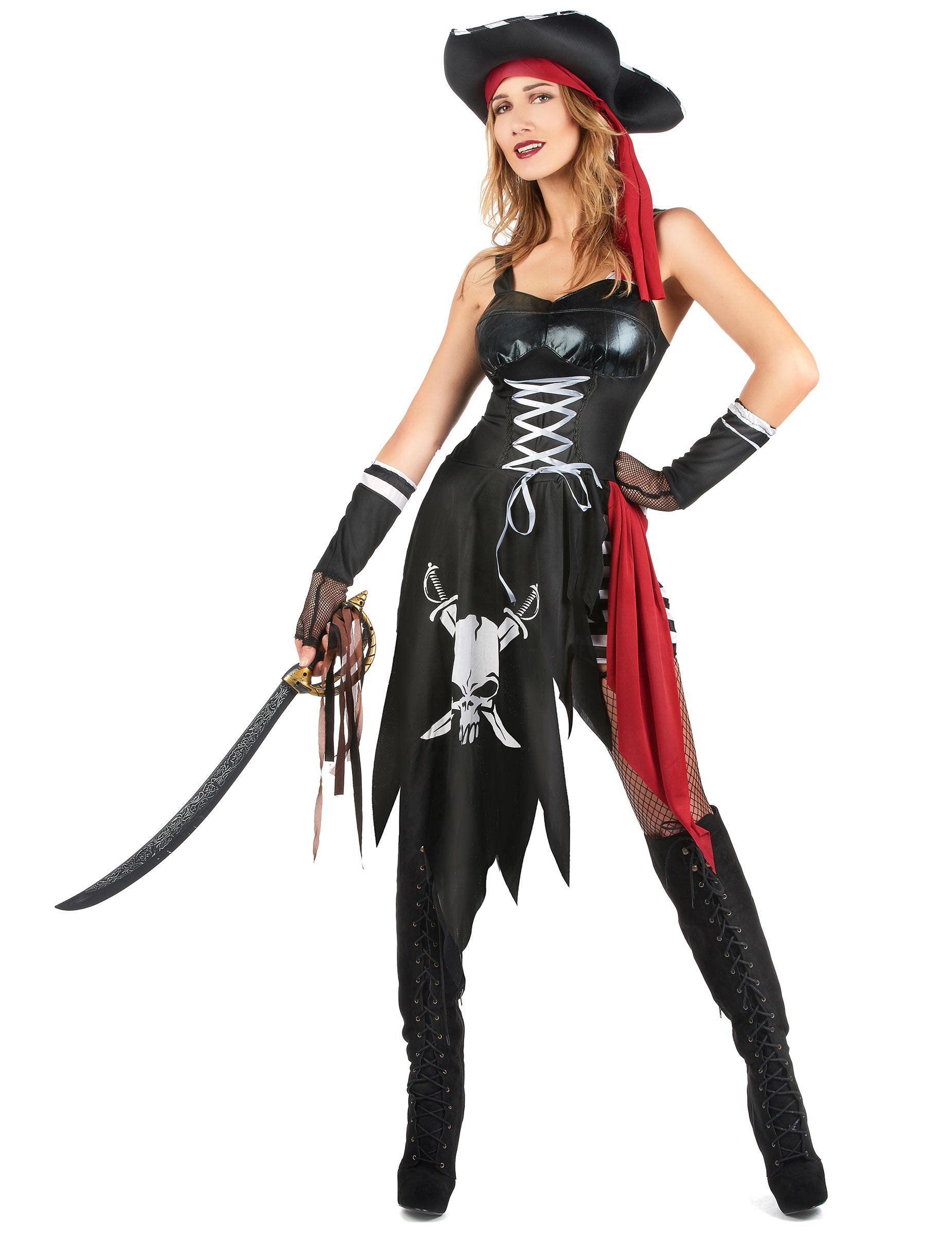 Sexet piratdragt Damer, køb Kostumer til voksne på Vegaoo.dk