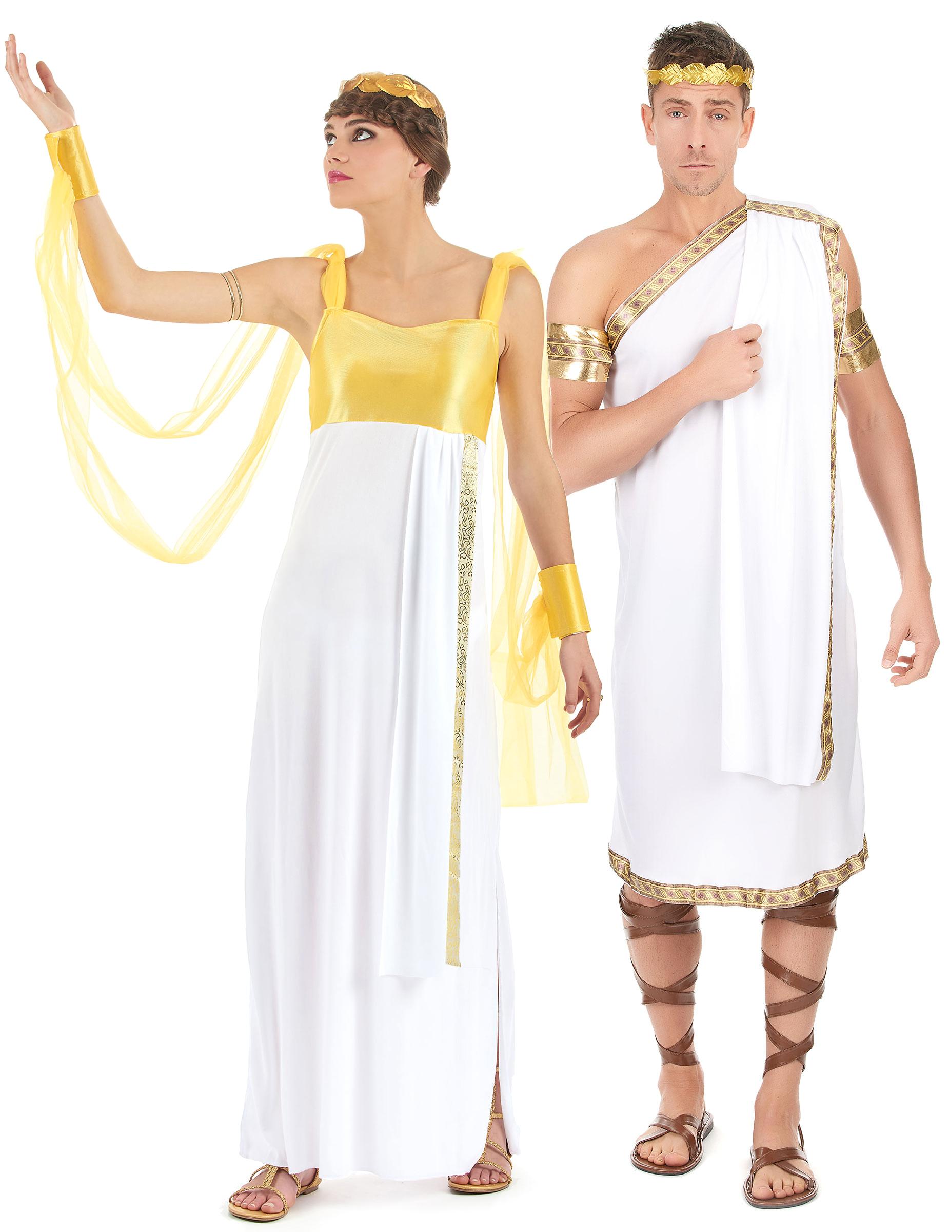 1cdc064c0cfd Parkostume Græsk-Romersk gud og gudinde til voksne