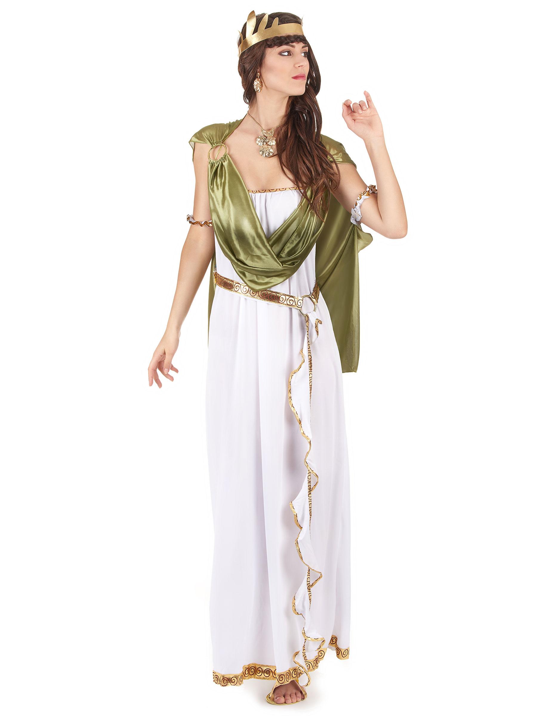 d3ca12b166c2 Græsk gudinde-kostume voksen