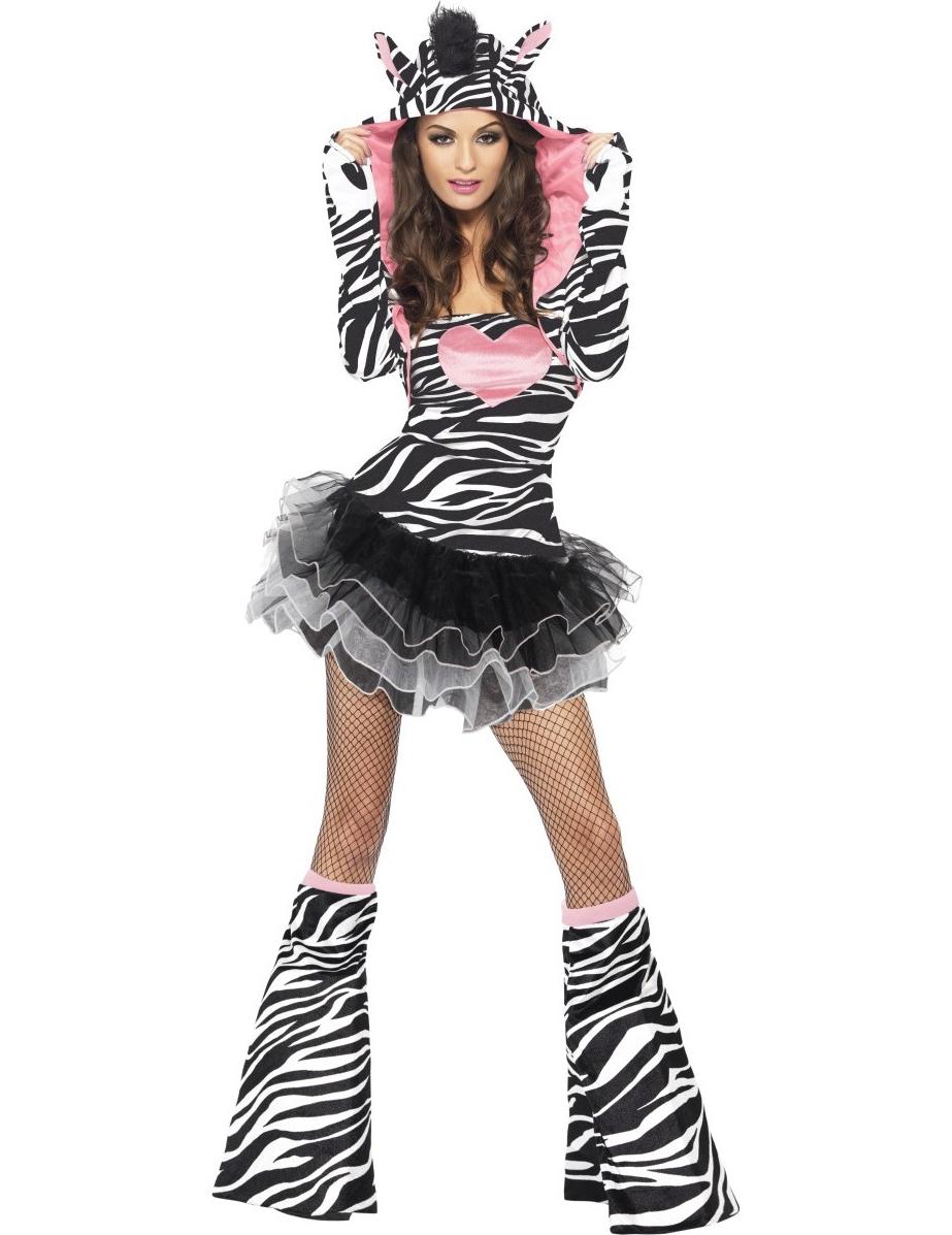055d96b1e5d Lækker zebra dragt til kvinder, køb Kostumer til voksne på Vegaoo.dk