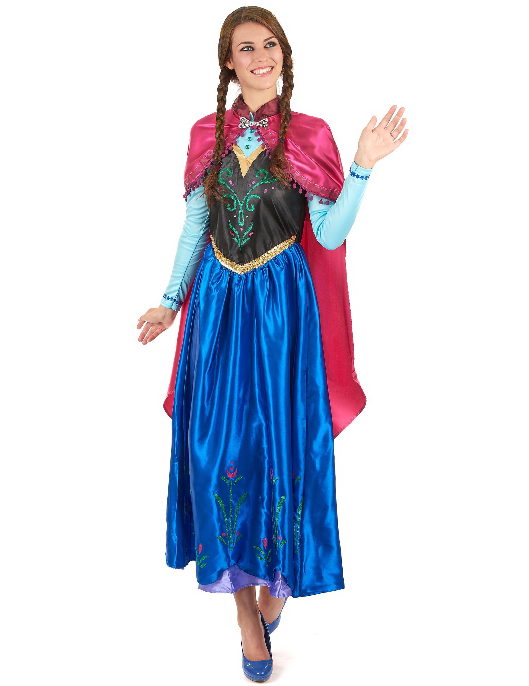 Kostumer Voksen Frozen™ Voksne På Til Kostume Køb Anna dk Vegaoo qwASO