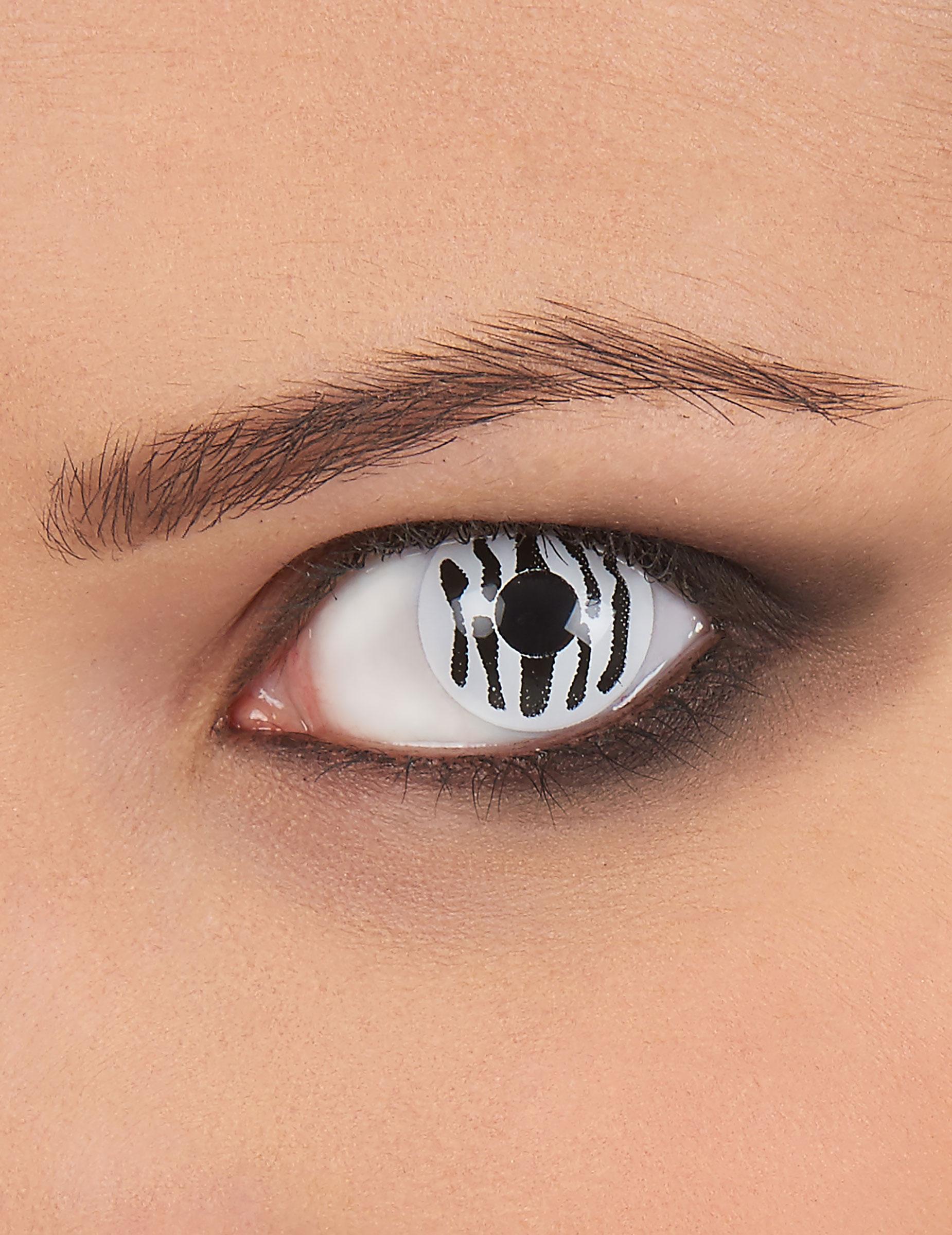 5e4176f02511 Kontaktlinser fantasy zebrastribede voksen