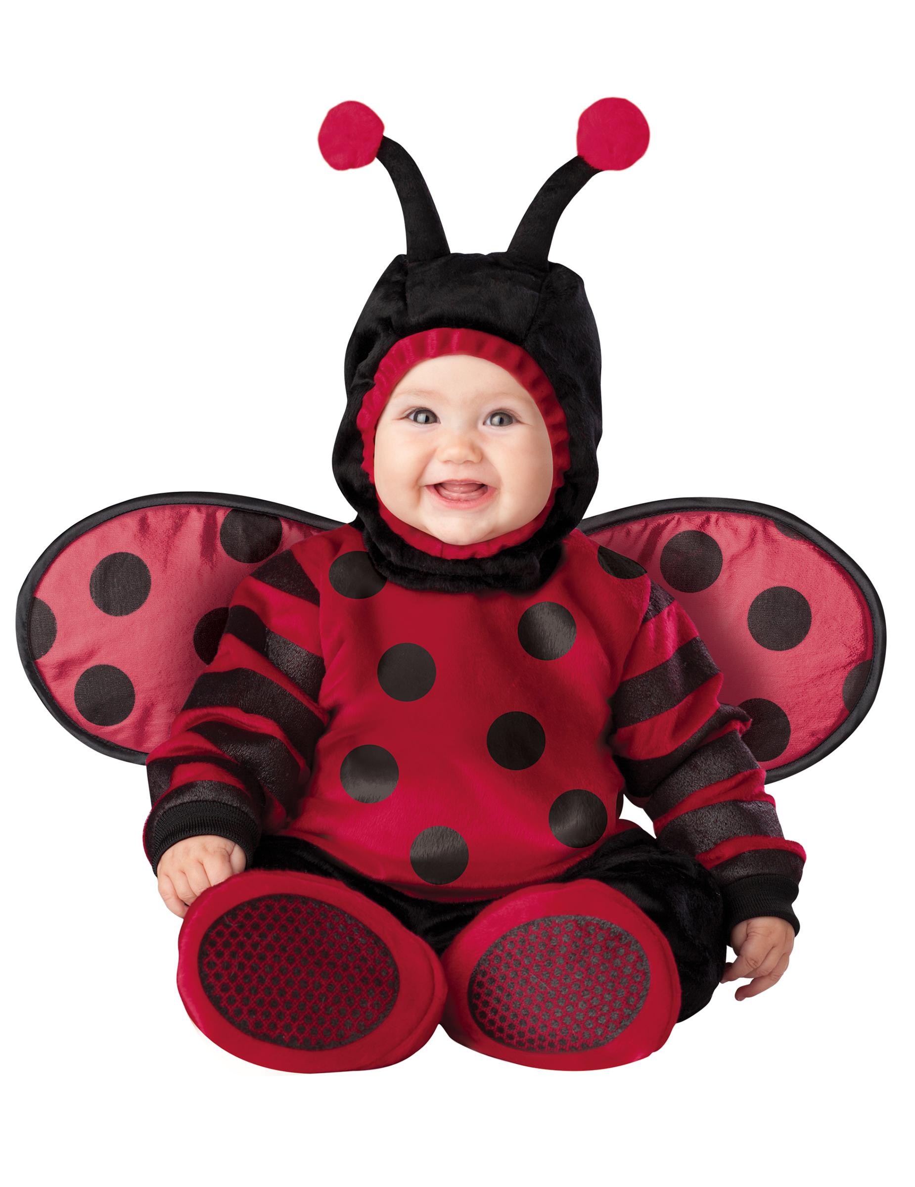 Premium Rød Mariehøne Baby Udklædning Køb Kostumer Til Børn På