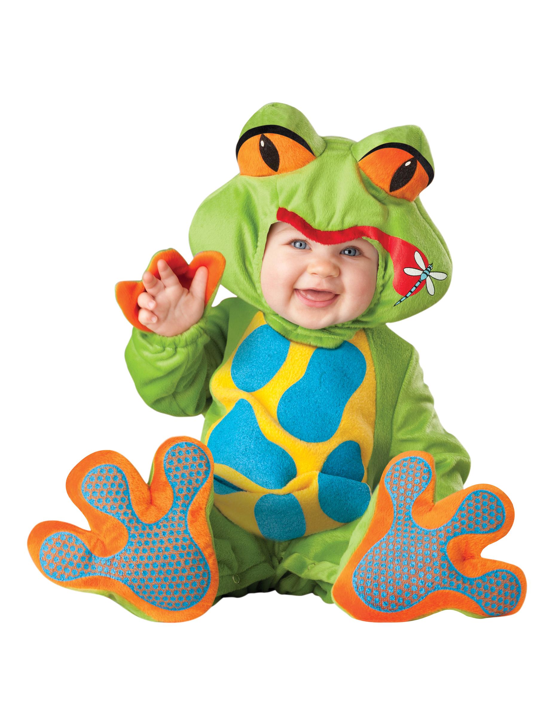 Premium frø - baby udklædning, køb Kostumer til børn på Vegaoo.dk