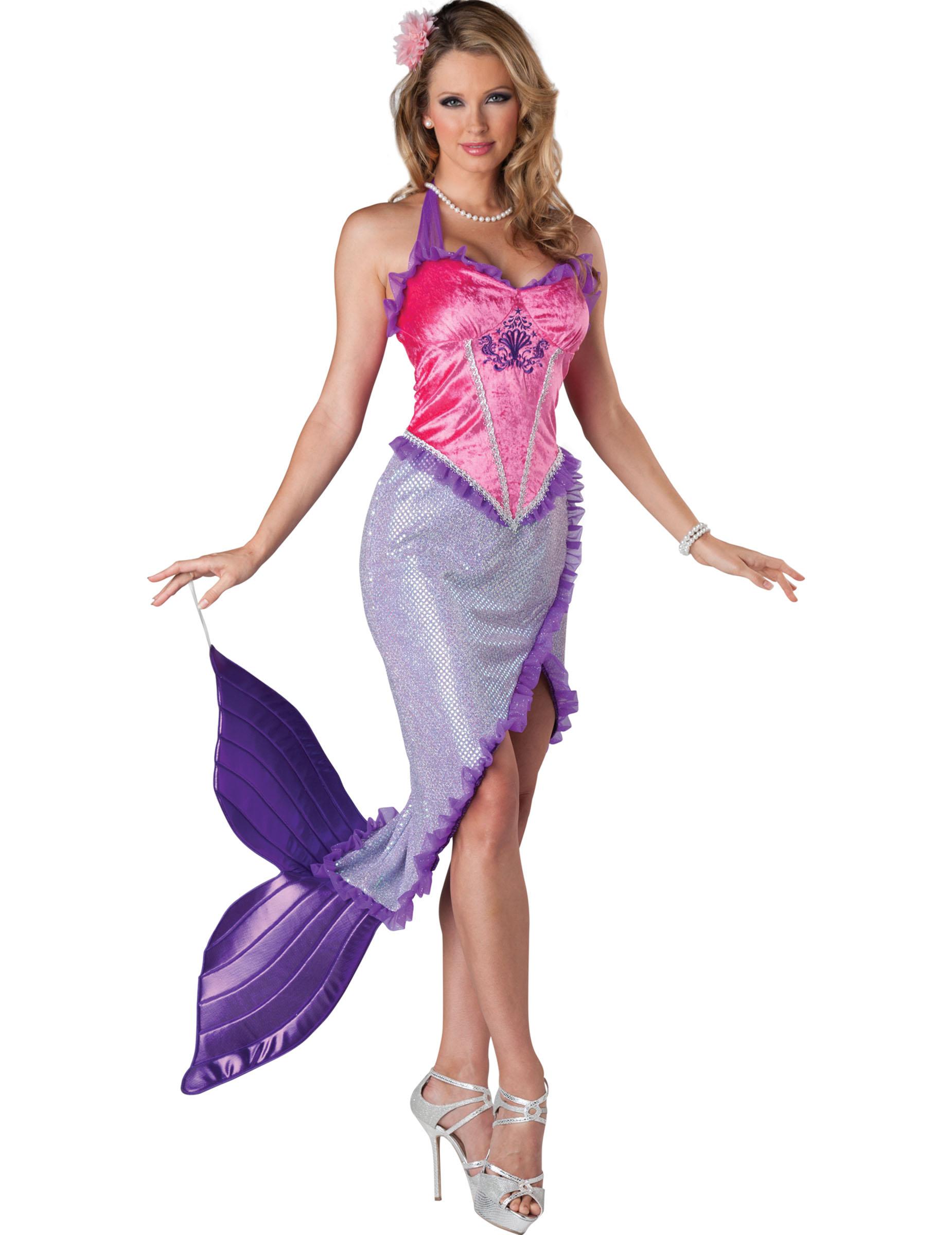 havfrue kostume til voksne