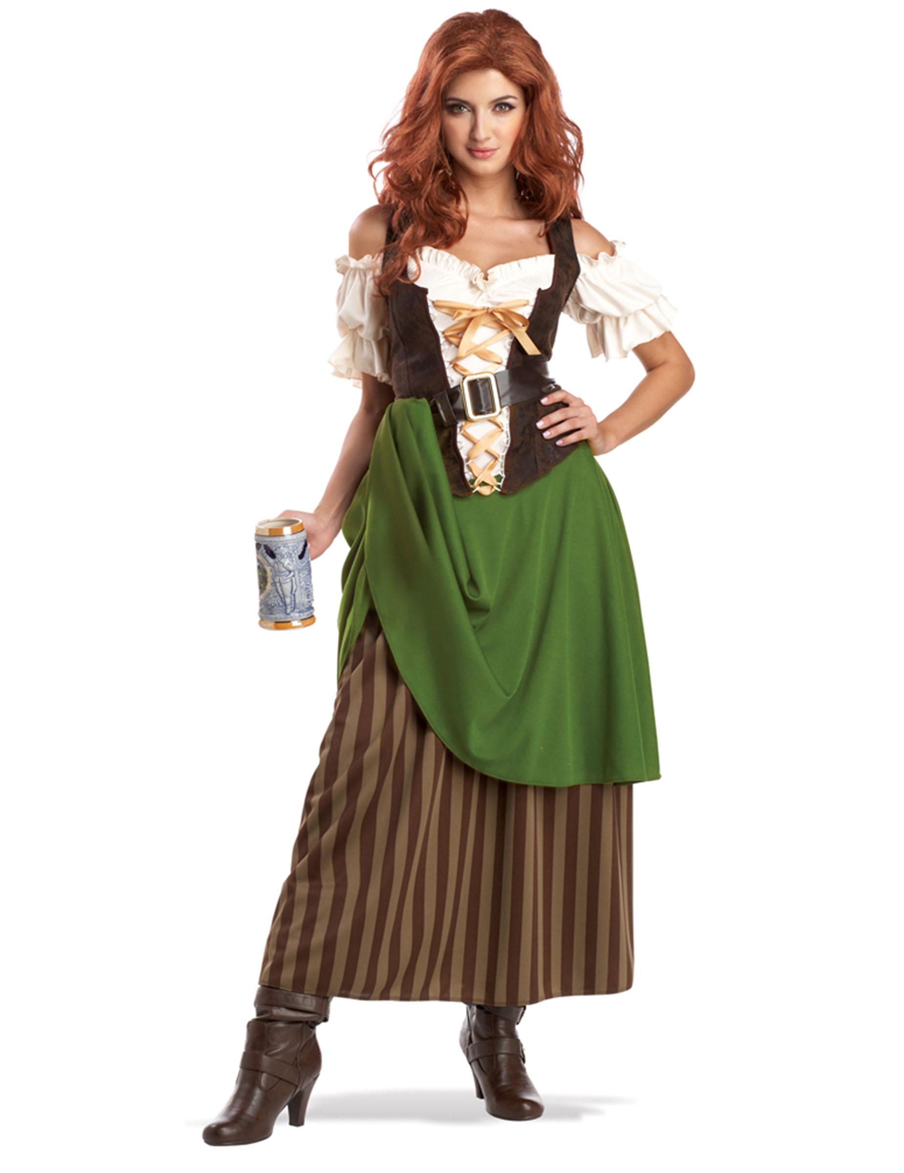 Udklædning Oktoberfest kvinde, køb Kostumer til voksne på
