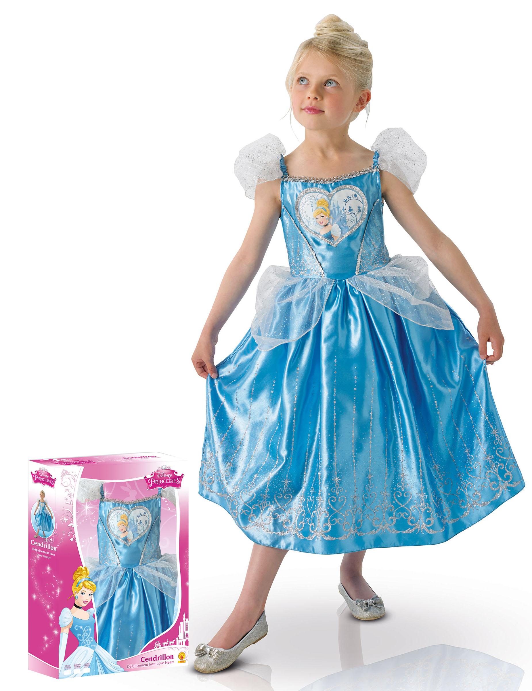 7ef358faeae7 Kostume luksus Love heart Askepot™ piger gaveindpakning