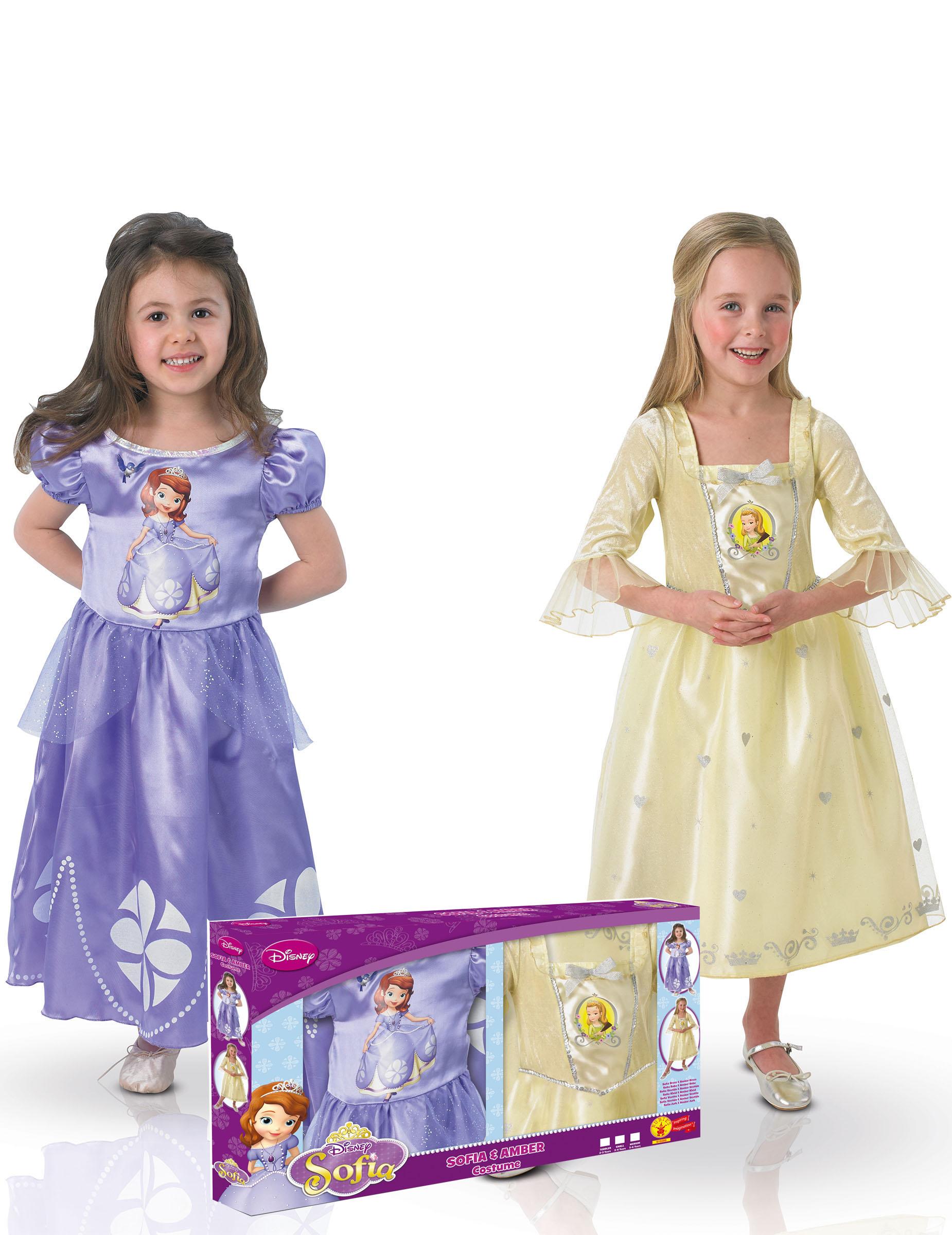 prinsesse sofia kjole