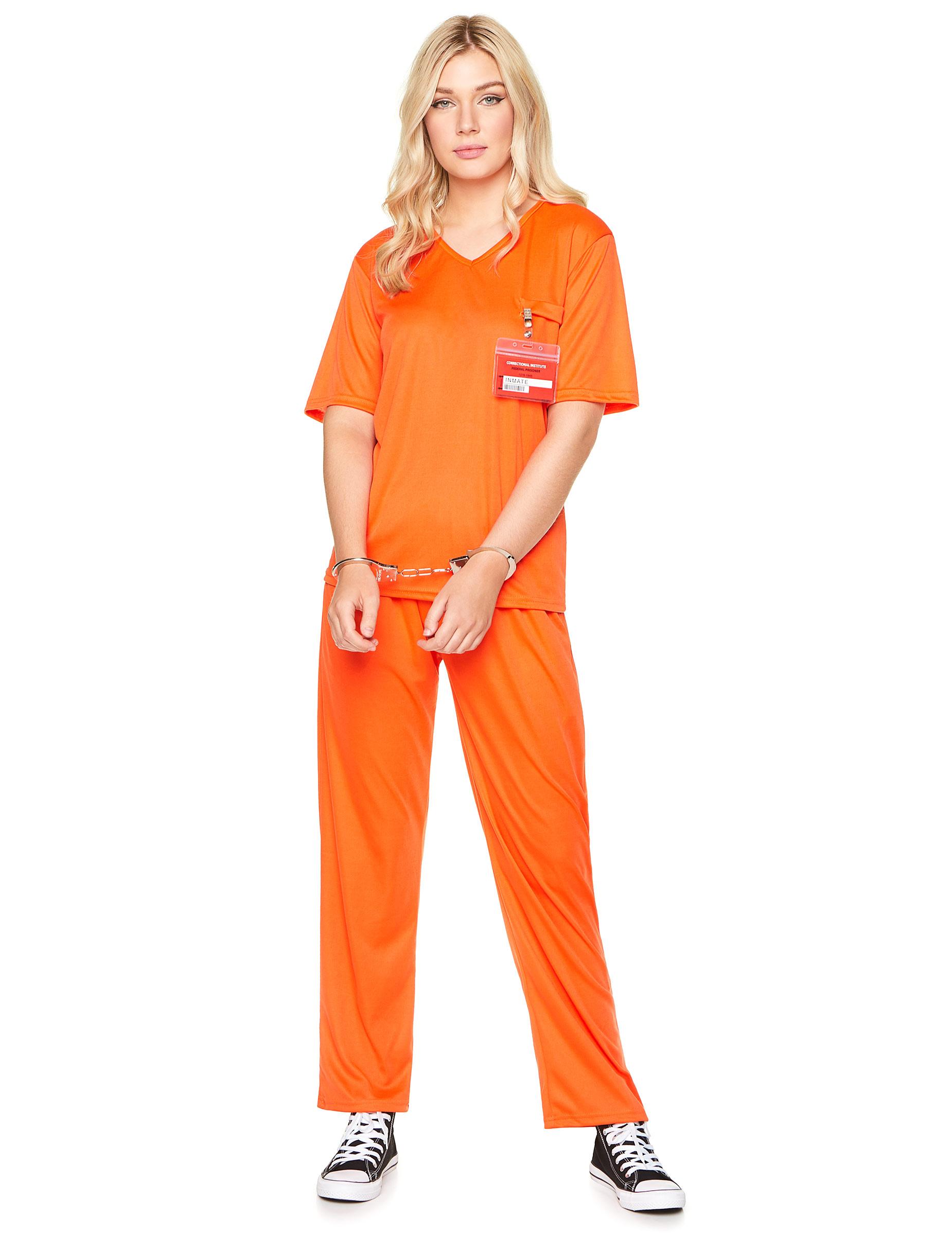 orange fængsels kostume
