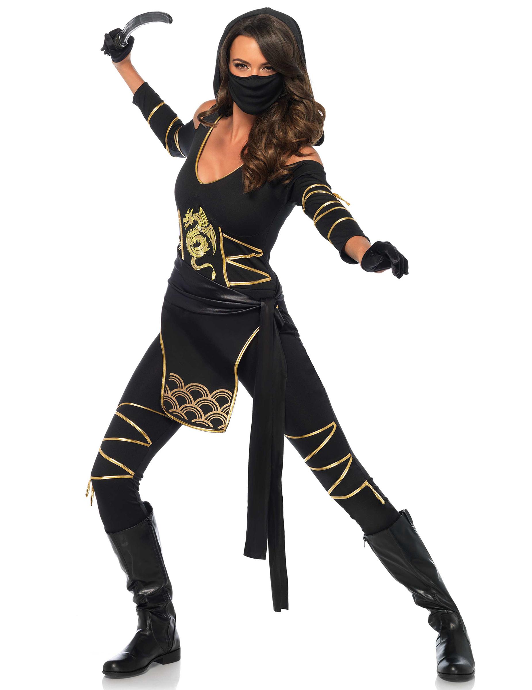 315be4395b0 Kostume ninja drage kvinde, køb Kostumer til voksne på Vegaoo.dk