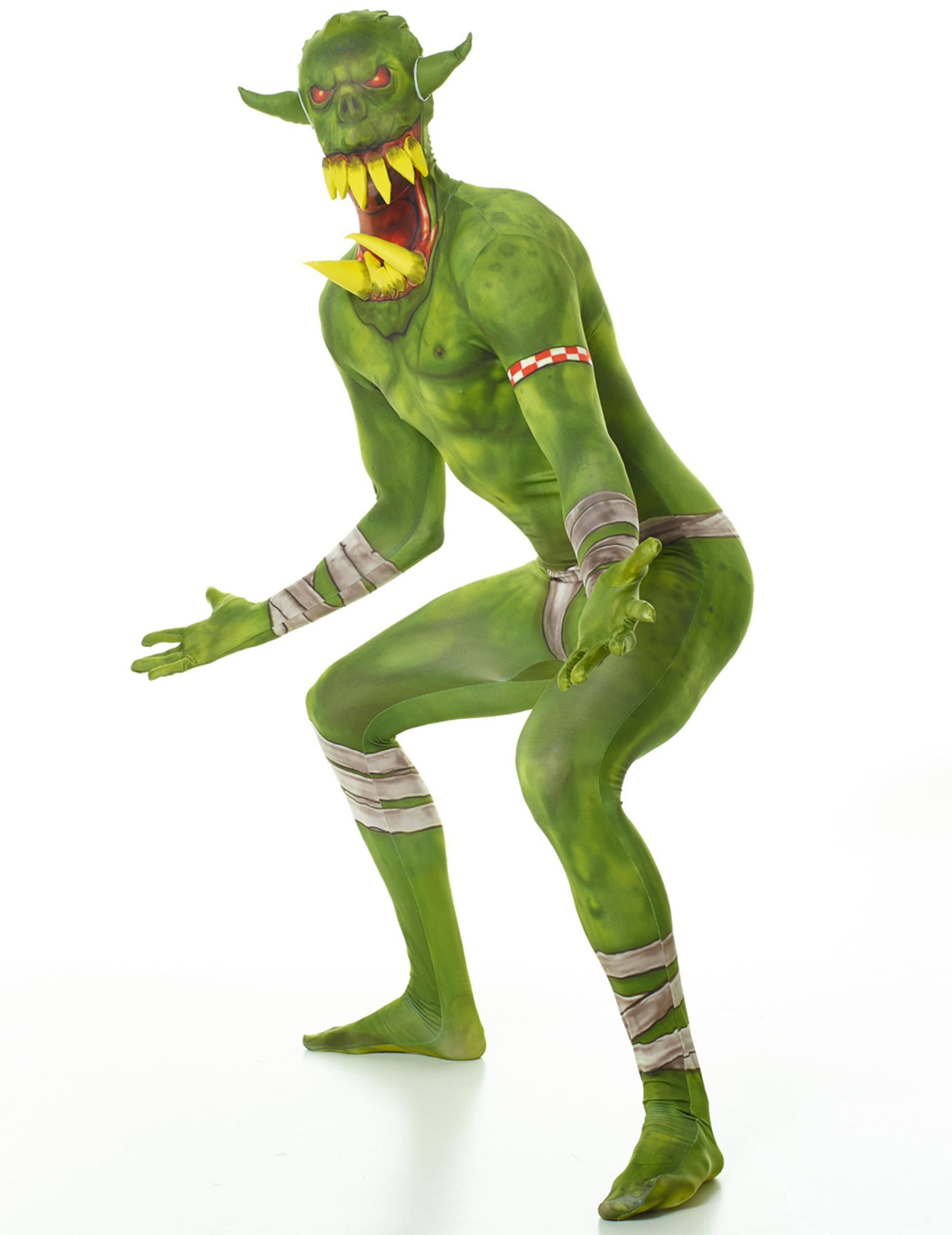 f5957ce407e3 Grøn Ork udklædning Morphsuits™ til voksne