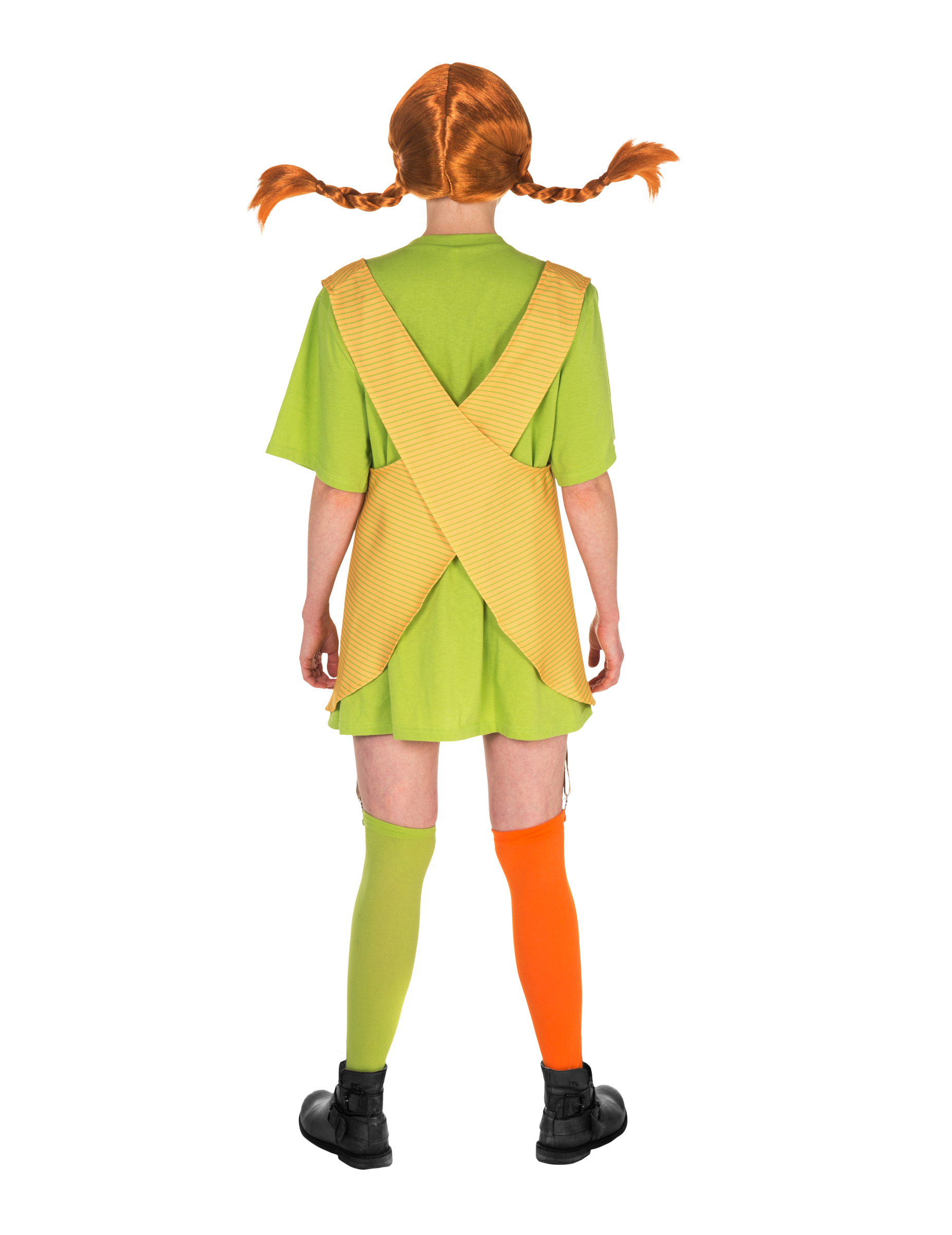 Pippi langstrømpe™ kostume, køb Kostumer til voksne på Vegaoo.dk