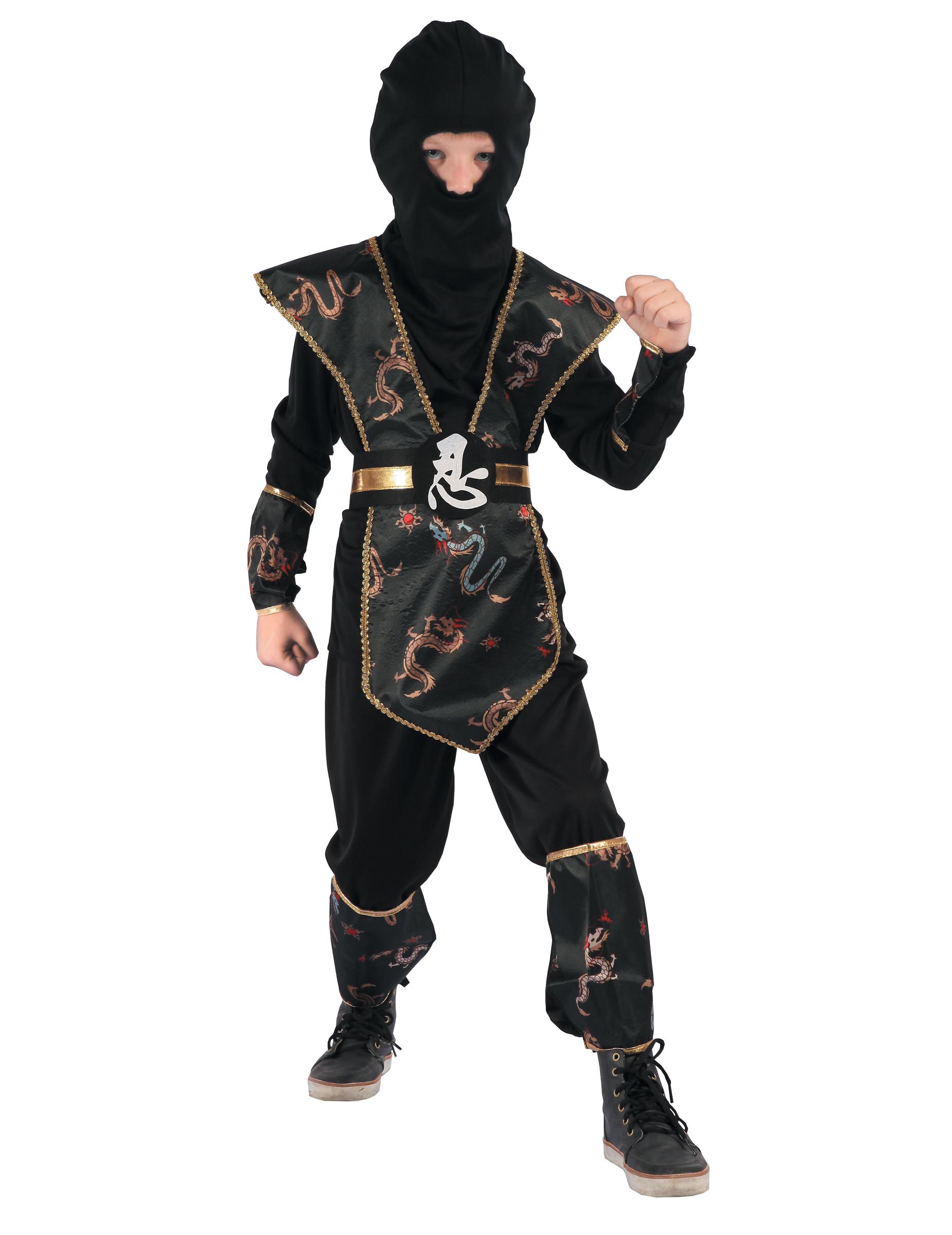 e04538f88c6 Kostume ninja drage gylden til drenge, køb Kostumer til børn på ...