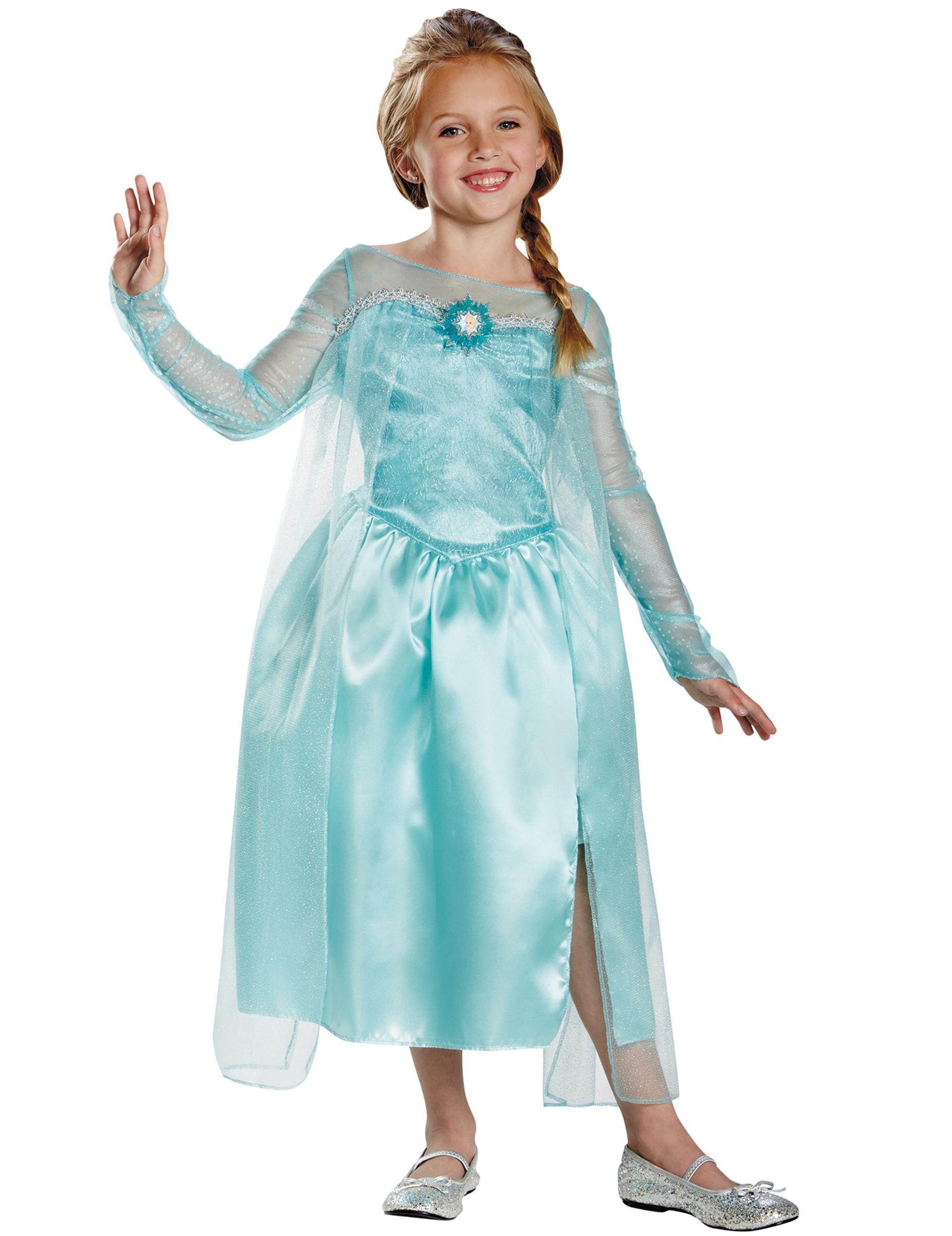Kostumer Vegaoo Piger På dk Køb Fra Kostume Frost™ Børn Til Elsa FnxROYq