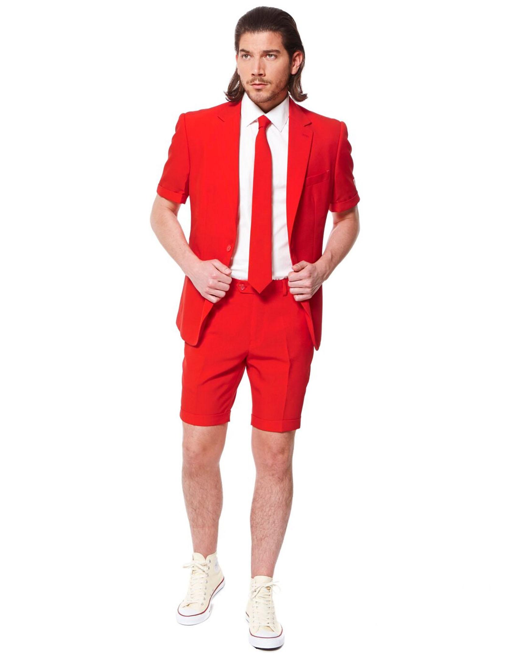 5aa604e4ff5 Jakkesæt sommer Mr. Red til mænd Opposuits™, køb Kostumer til voksne ...