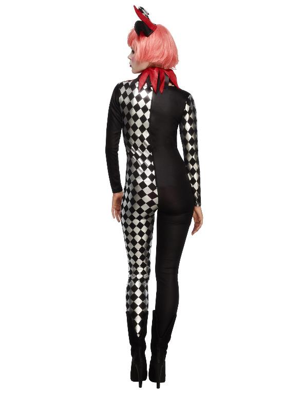 4308a47a331 Kostume harlekin dragt til kvinder, køb Kostumer til voksne på Vegaoo.dk