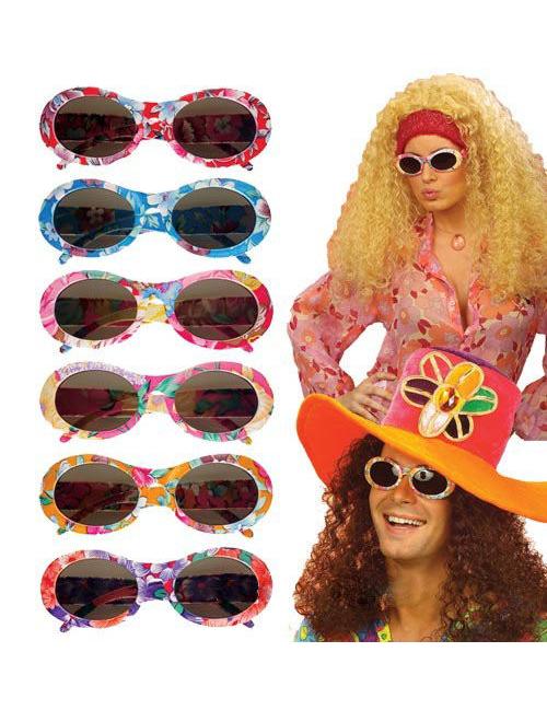 140653ff4615 Hippie briller multifarvet