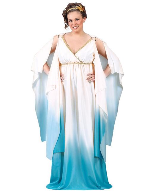 d0ccafa79829 Kostume greco-romersk kjole store størrelser til kvinder