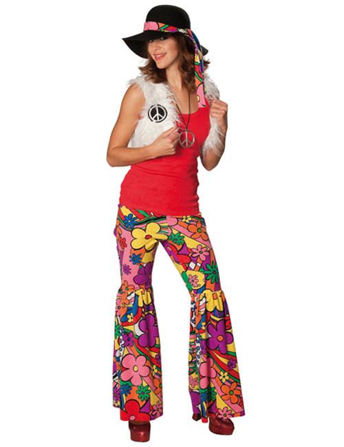 Kostume hippie 60er til kvinder, køb Kostumer til voksne