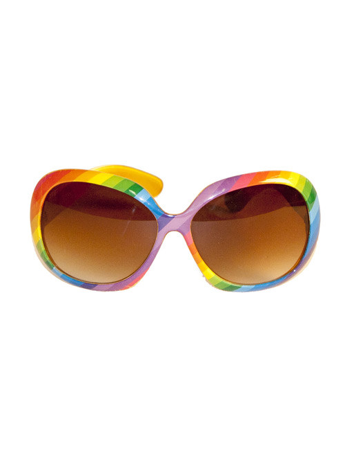 6c80601d10ed Briller multifarvet 70´er stil