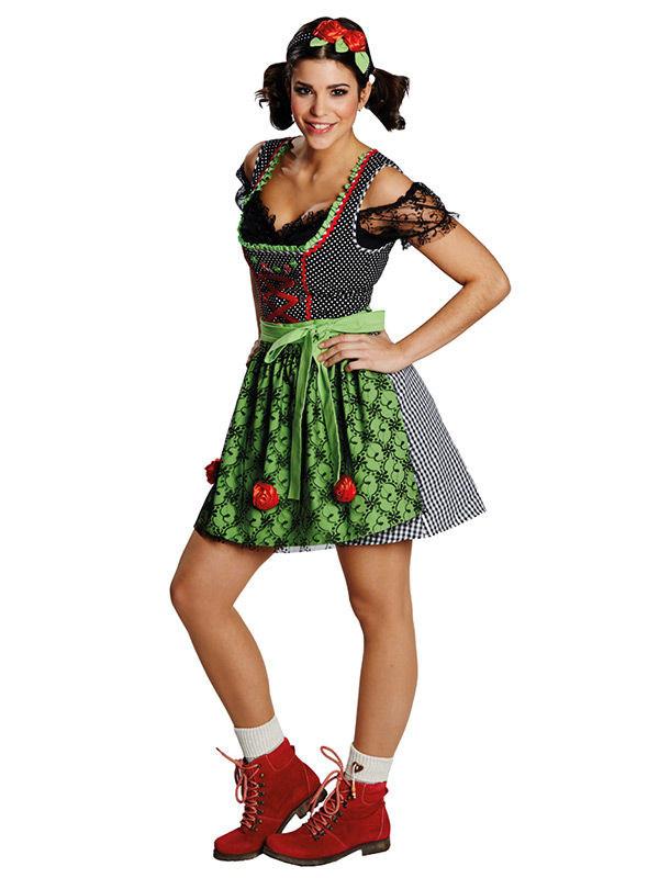 Oktoberfest kjole til kvinder, køb Kostumer til voksne på