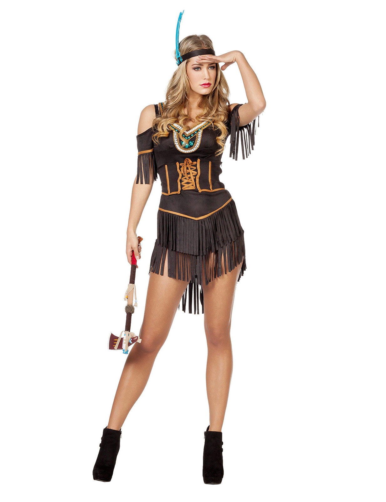 indianer udklædning voksen