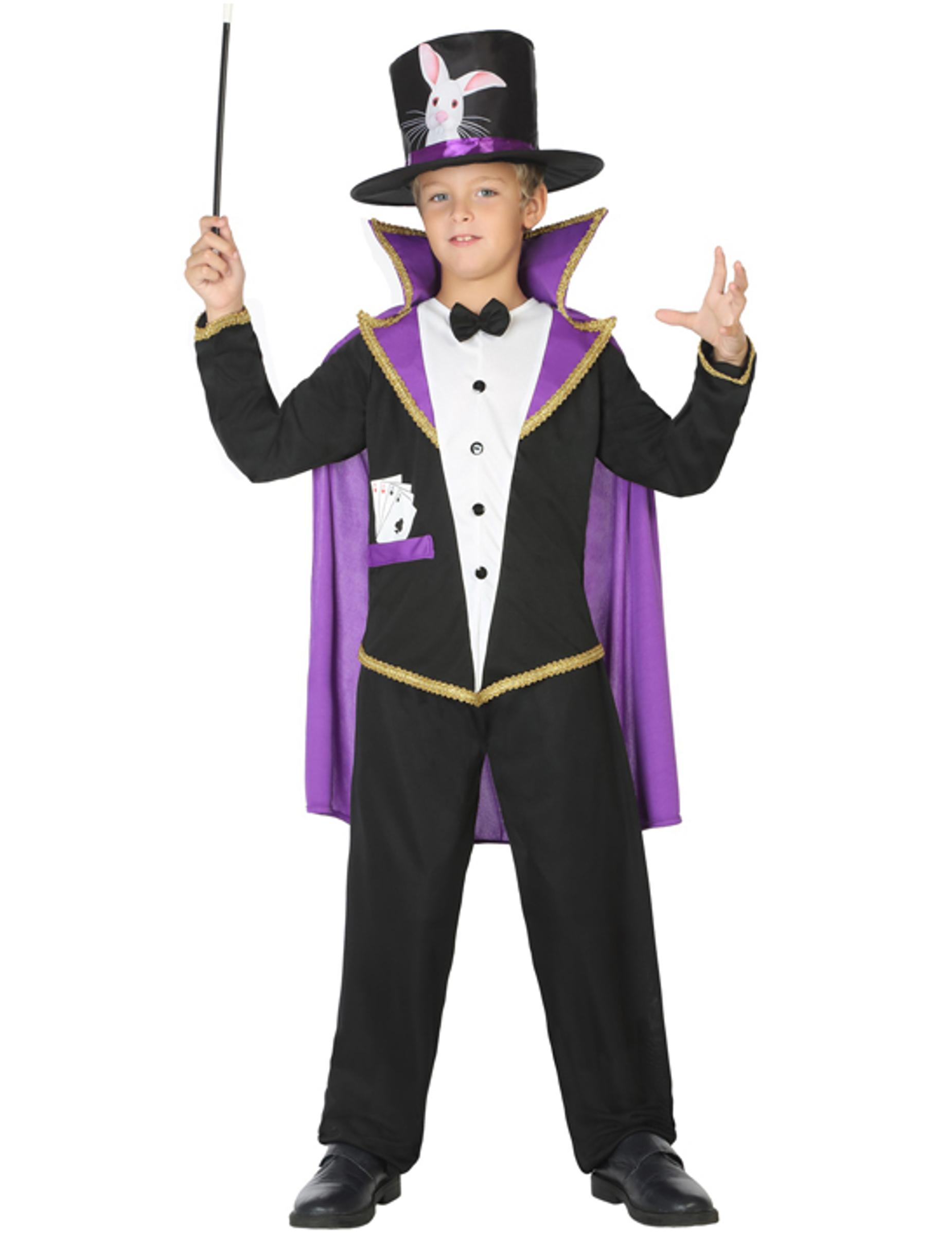 tryllekunstner kostume børn