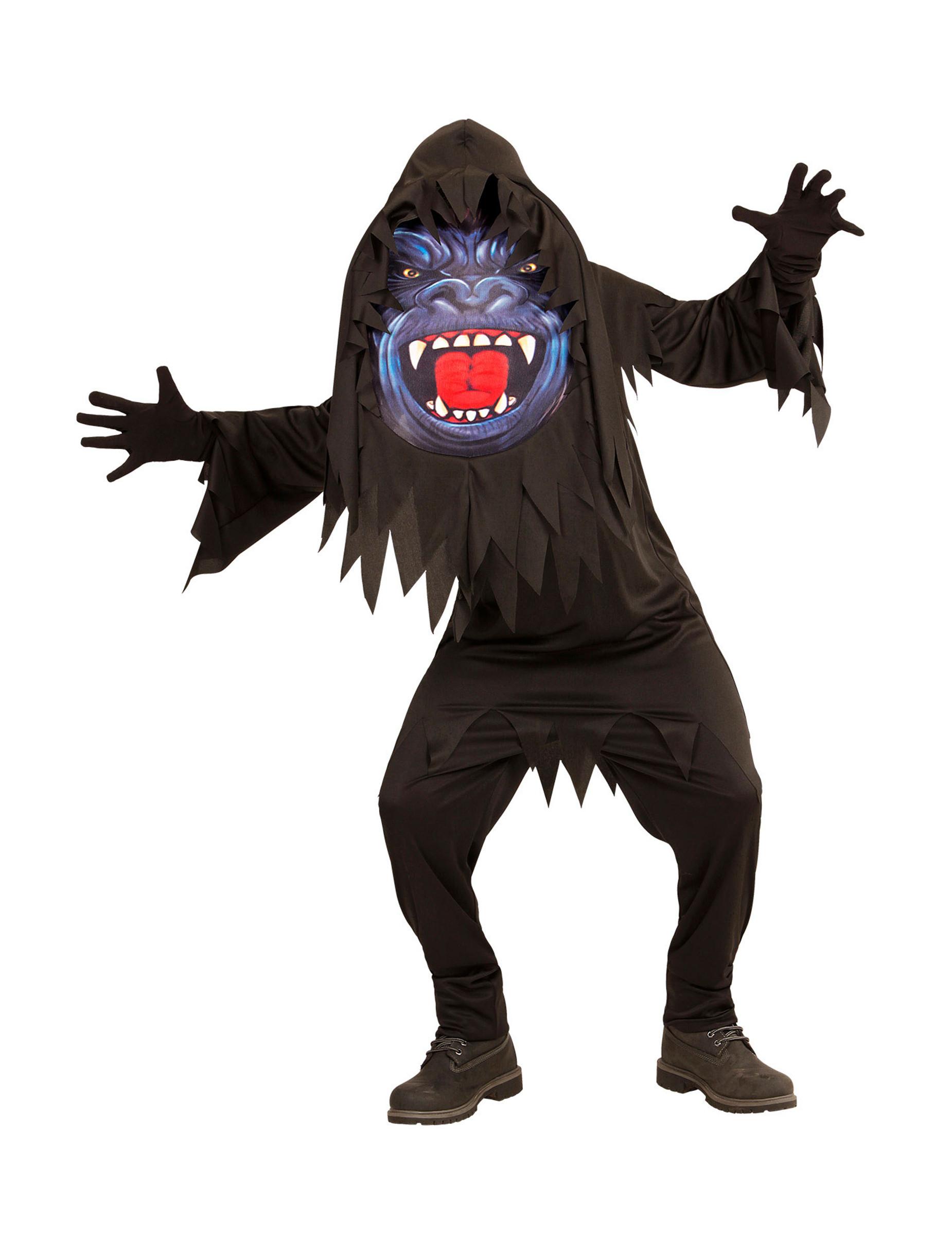 116980eca4e Gorilla kostume til voksne, køb Kostumer til børn på Vegaoo.dk