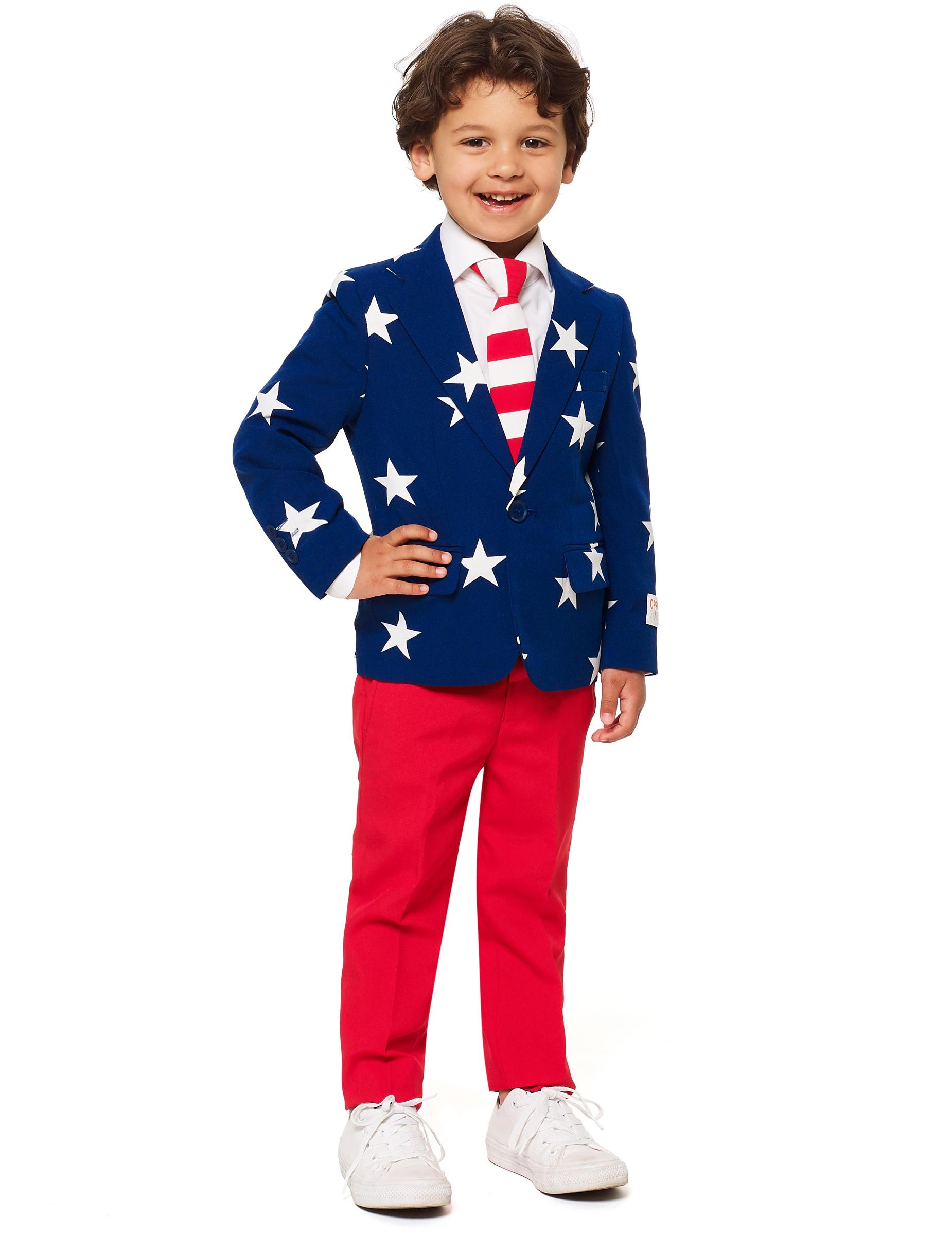 0a07e2eb186 Mr. USA jakkesæt til børn - Opposuits™, køb Kostumer til børn på ...