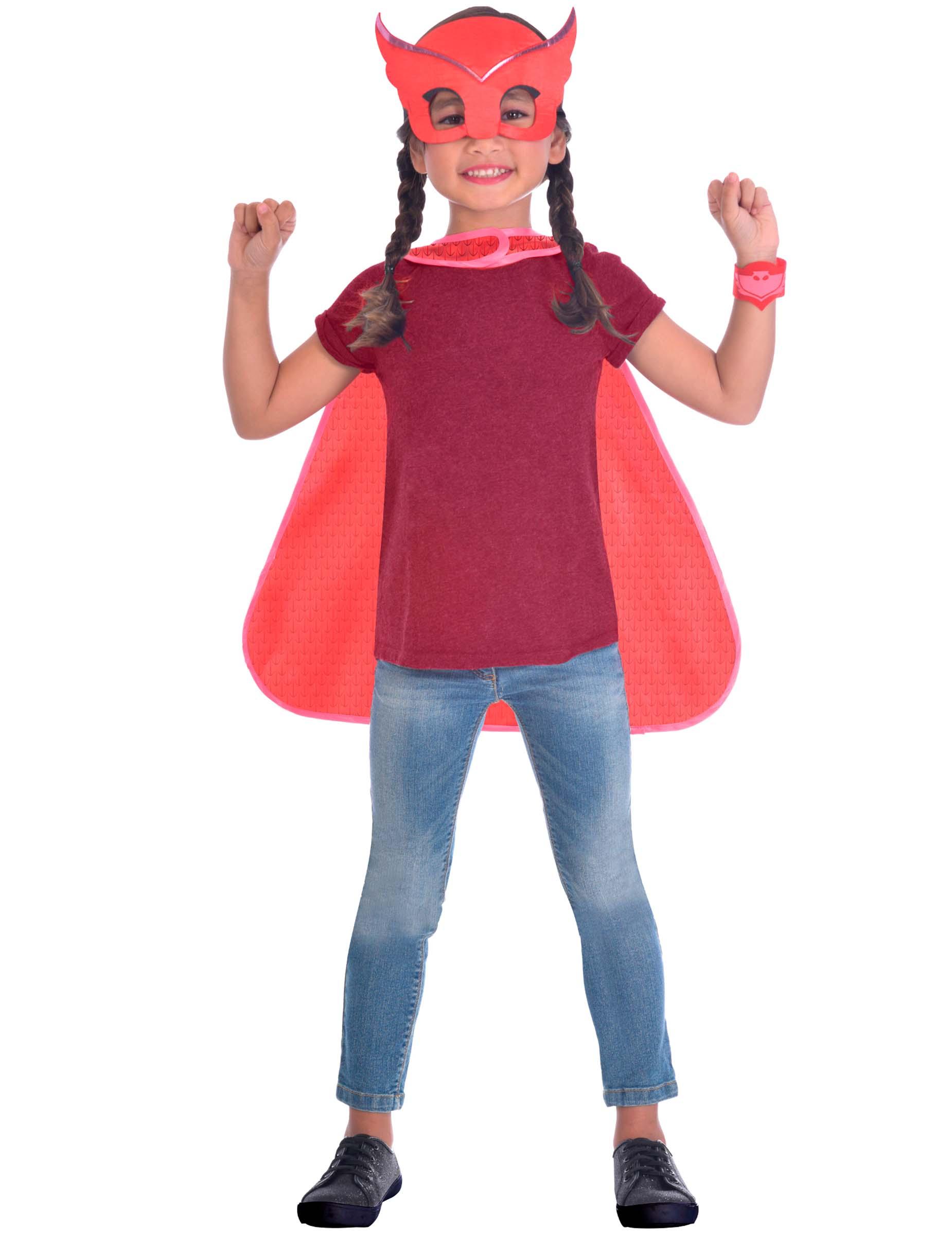 8df1aaf2d497 Ugline kit med maske og kappe til børn