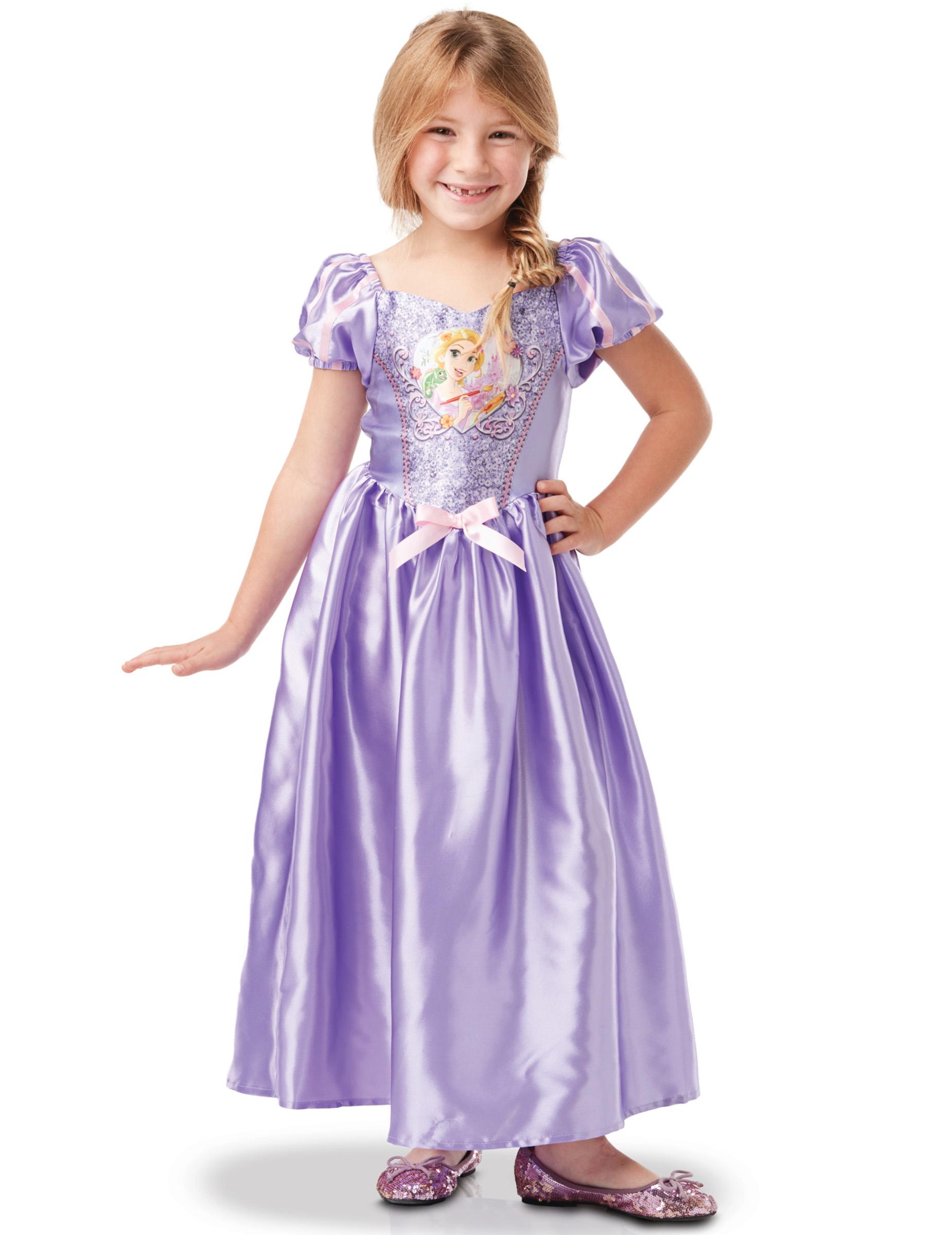Klassisk Rapunzel™ kostume til piger