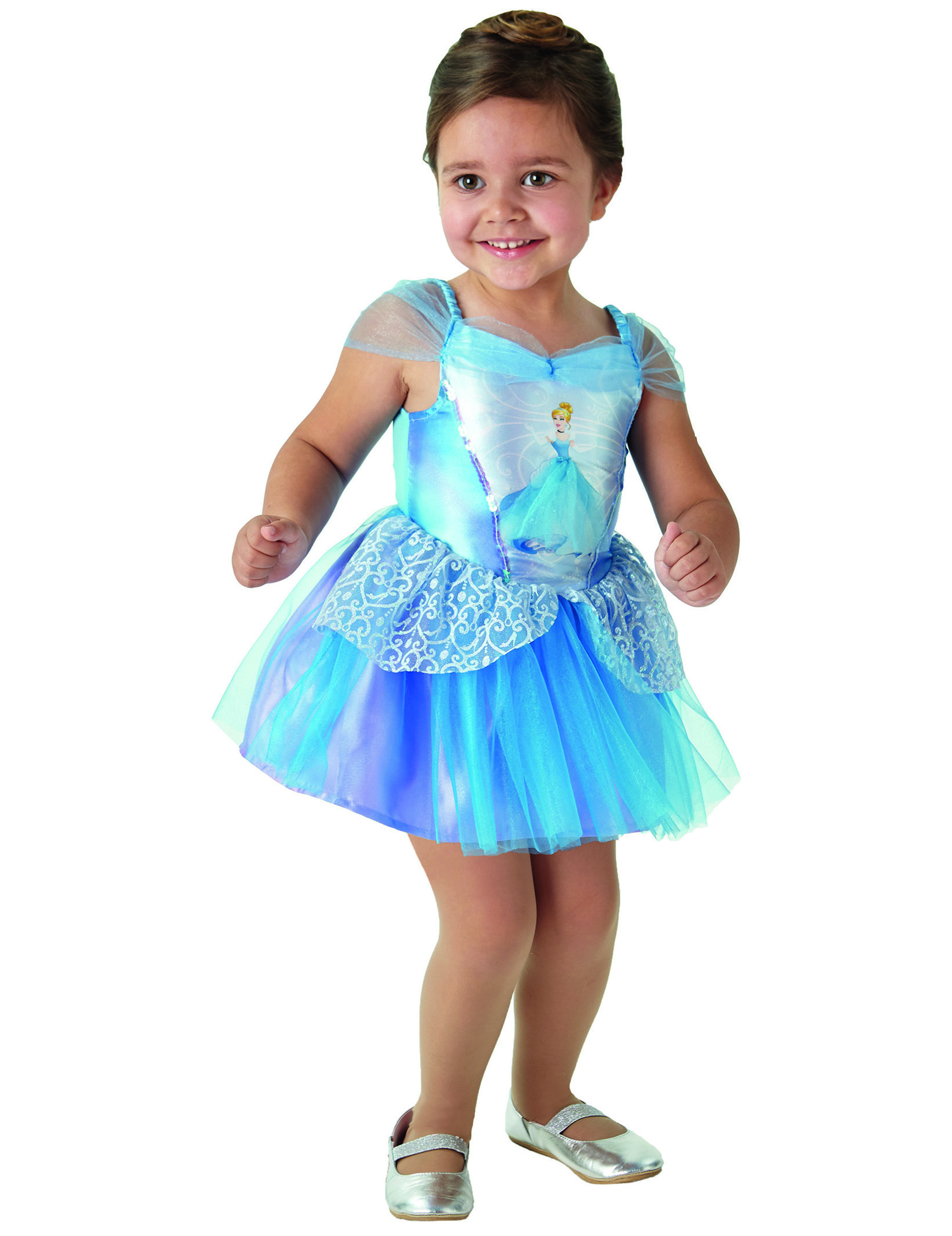 Klassisk Askepot™ prinsesse kostume pige