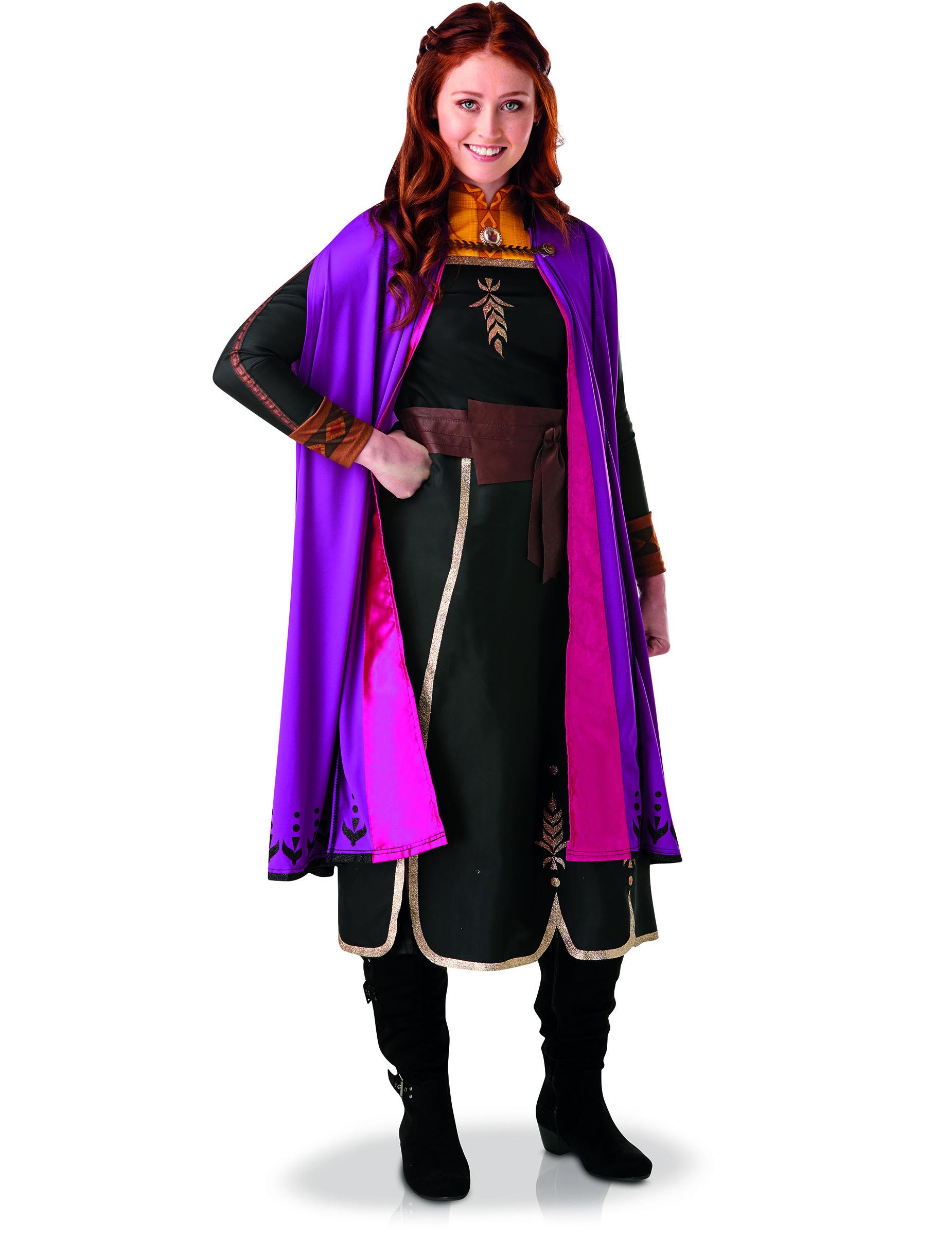 Vegaoo Anna Kostume Frozen 2 kvinde - Small