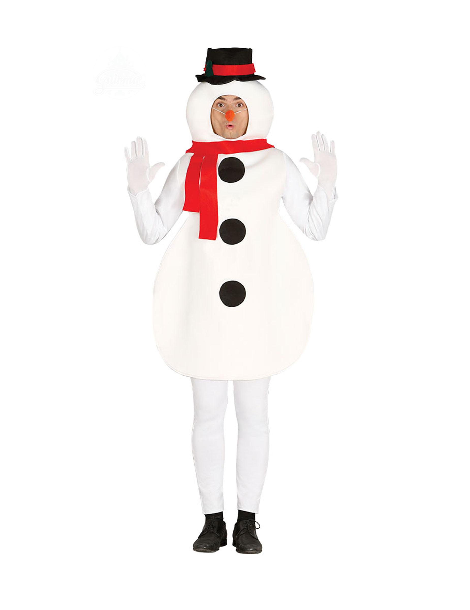 Snemand kostume voksen, køb Kostumer til voksne på Vegaoo.dk