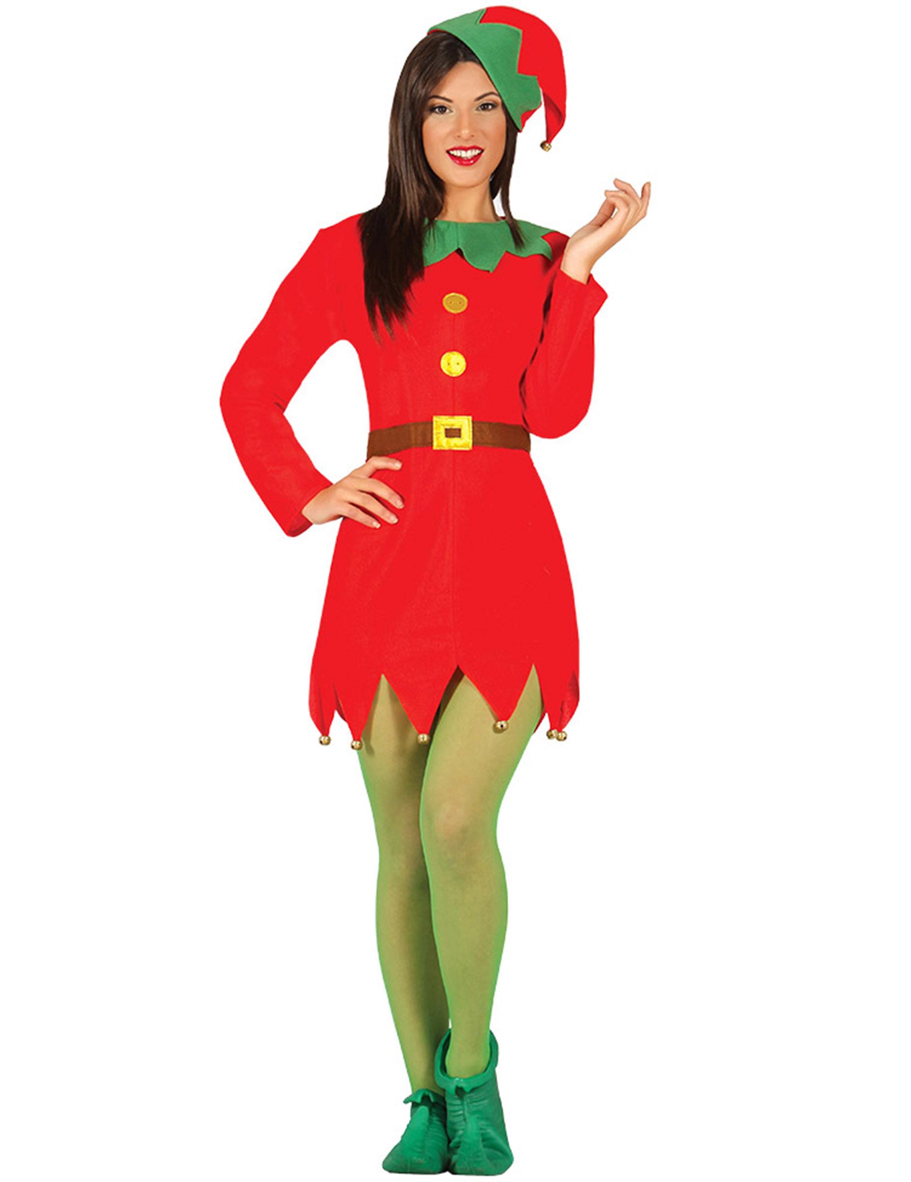 Miss nisse kostume kvinde, køb Kostumer til voksne på
