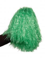 Metallicgrøn pompon