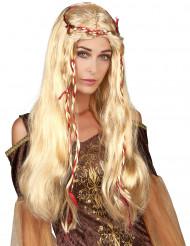 Blond middelaldersparyk