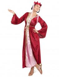Middelalder Dronning Kostume