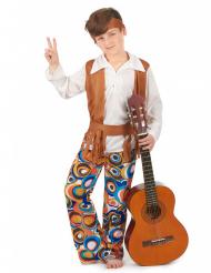 Brunt hippiekostume drenge hippie