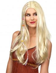 Blond hippieparyk voksen
