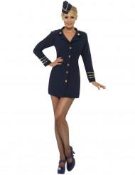 Sexet stewardesseudklædning voksen