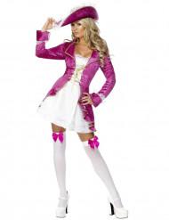 Kostume pirat lyserød sexet til kvinder