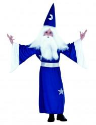 Udklædningsdragt troldmand barn