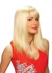 Paryk blond til kvinder