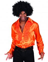 Skjorte disko orange herre