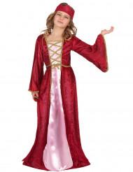 Middelalder dronning udklædning til børn