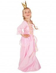 Lyserød eventyrsprinsesse - Udklædning til børn