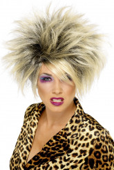 Vild Blond Paryk Kvinde