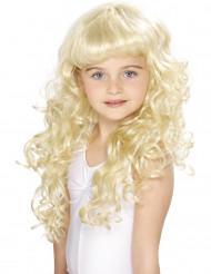 Blond Prinsesseparyk Pige