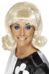 60?er Paryk Blond Kvinde